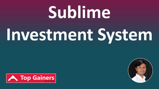 Sublime Investment System
